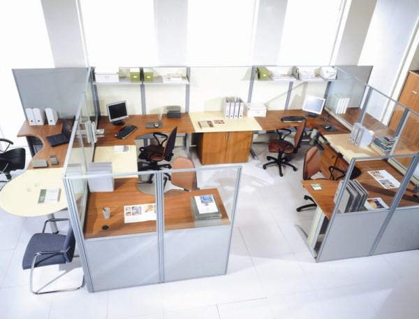 перегородки в офисе