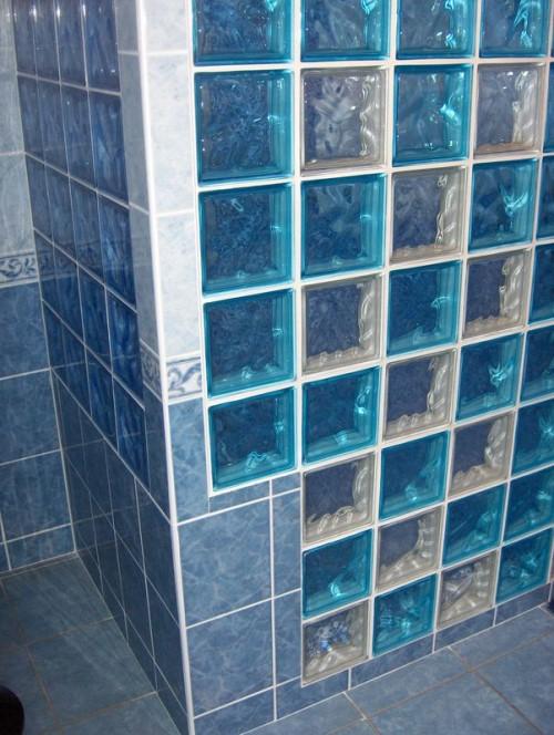 блоки из стекла для санузла