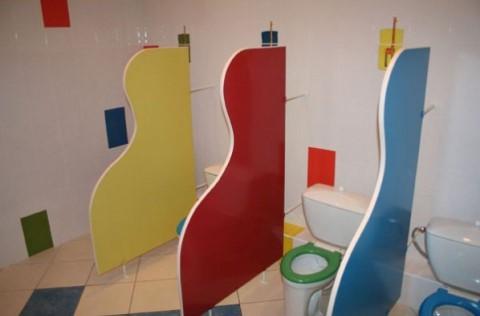 конструкции детском туалете