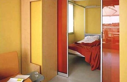 двери межкомнатные раздвижные в стену
