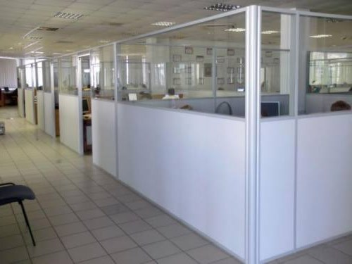 пластиковые перегородки для офисных помещений