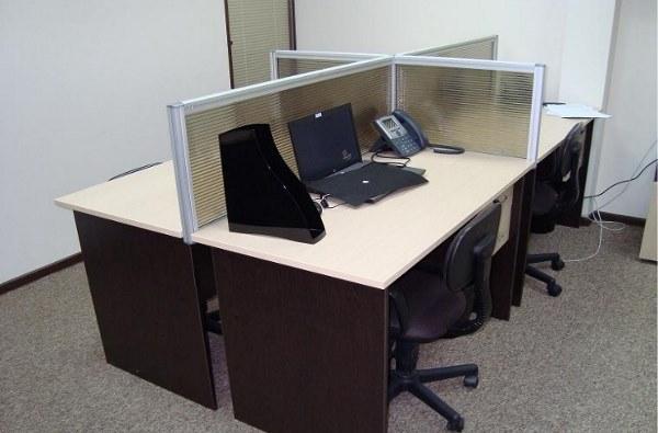 офисные перегородки из пластика