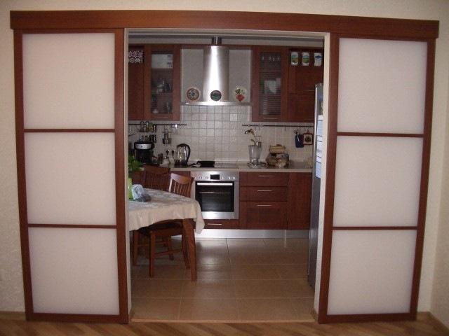 Перегородка для кухни и гостинной